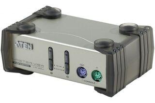 ATEN MasterView CS82AC Switch KVM 2 U.C. PS2 + Cables