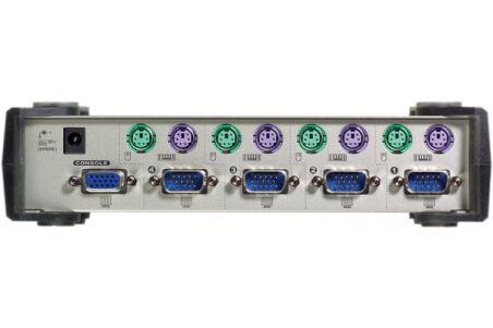 ATEN MasterView CS84 Switch KVM 4 U.C. PS2 + Cables