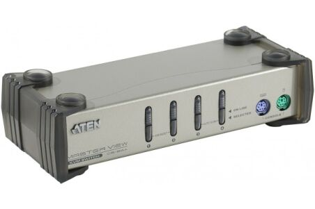 ATEN MasterView CS84 Switch KVM 4 U.C. PS2 + Cables