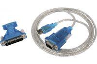 DACOMEX Adaptateur USB 2.0 - à série DB9/DB25