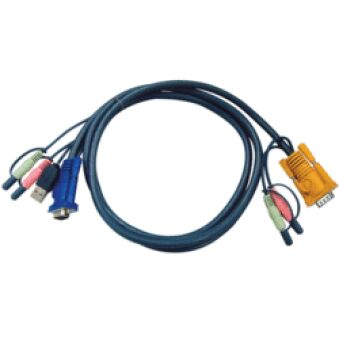 Cable E7 kvm ATEN 2L-53xxU VGA-USB-Audio - 1,80M