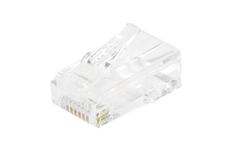 CONNECTEUR 8P8C RJ45 CAT6 UTP - LOT DE 10
