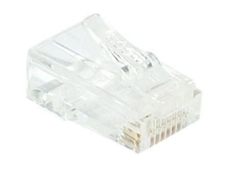 Connecteur à sertir 8P8C RJ45 CAT6 UTP - lot de 10