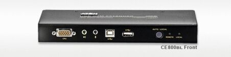 Aten CE800B Prolong. console KVM RJ45 (250m) - VGA+USB+AUDIO