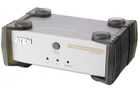 Aten CS231 KVM inversé 1PC - 2 utilisateurs VGA/USB