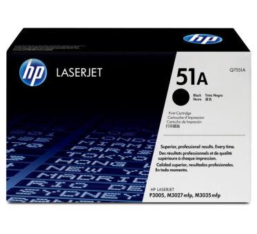 Toner HP Q7551A 51A - Noir