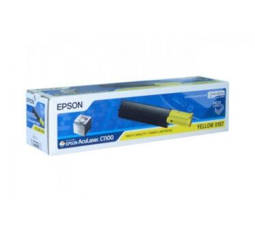 Toner EPSON C13S050187 - Yellow