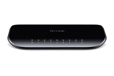 Switch 8 ports TPLINK-SG1008D Gigabit plastique Desktop