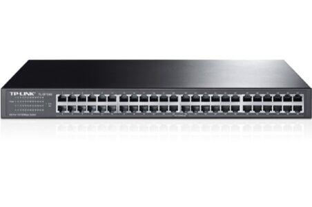 Switch réseau TP-Link 48 ports RJ45 10/100 rackable