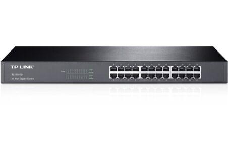 Switch Réseau Ethernet TP-Link - 24P Gigabit Rackable