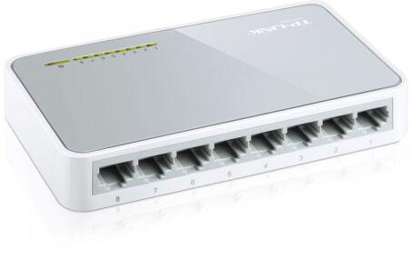 Switch réseau RJ45 10/100 - 8 ports SOHO