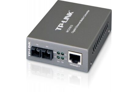 Convertisseur TP-Link RJ45 gigabit/fibre monomode 15Kms