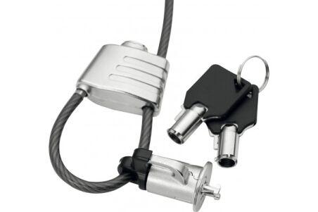 Dacomex antivol boucle à clé avec encoche K-Lock mobile secu