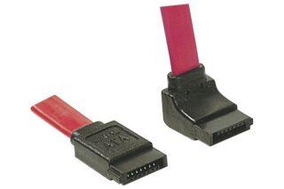 Câble SATA coudé vers le bas - 50 cm
