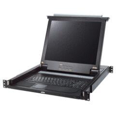 "ATEN CL1000 console KVM LCD 17"" 1 port VGA/PS2-USB Clav. FR"