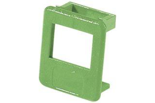 Insert pour panneau RJ lot de 50 pcs-vert