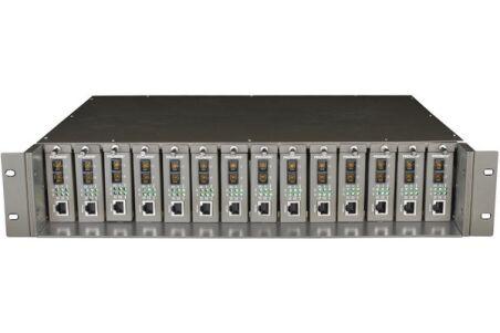 """Tplink MC1400 chassis 19"""" 14 slot pour module fibre TP-Link"""