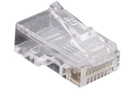 Connecteur à sertir 8P8C RJ45 UTP Téléphonie - lot de 10
