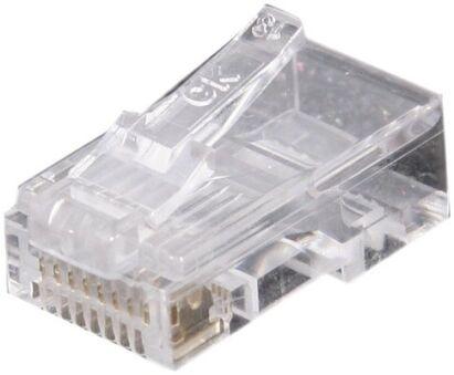 CONNECTEUR 8P8C RJ45 UTP TELEPHONIE LOT DE 10