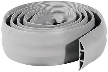 Passage plancher souple de 3 câbles gris - 1,80m