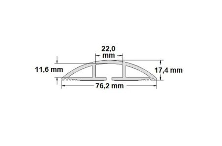 Passage de - 5 câbles 1,80m
