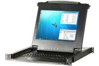 Aten CL1016M console LCD 17' simple rail KVM 16 ports VGA/US