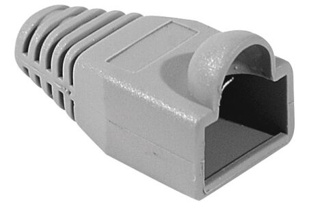 Manchon RJ45 gris snagless diamètre 5,5 mm (sachet de 10 pcs)