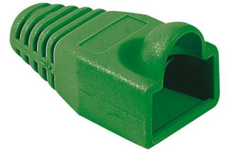 Manchon RJ45 vert snagless diamètre 5,5 mm (sachet de 10 pcs)