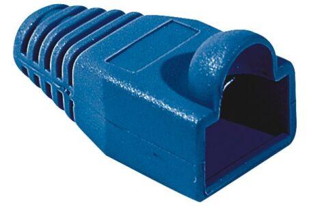Manchon RJ45 bleu snagless diamètre 5,5 mm (sachet de 10 pcs)
