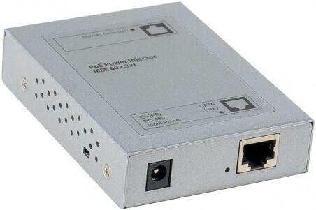 injecteur PoE+ metal 802.3at 30W