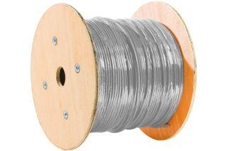 Câble multibrin F/UTP CAT6 gris - 500 m
