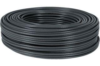 Câble multibrin F/UTP CAT6 noir - 100 m