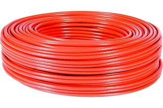 Câble multibrin F/UTP CAT6 rouge - 100 m