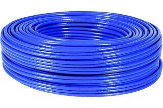 Câble multibrin F/UTP CAT6 bleu - 100 m