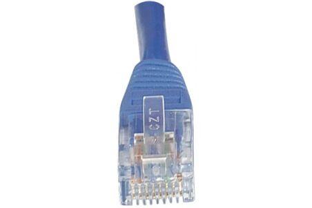 CORDON PATCH RJ45 U/UTP CAT5e Bleu - 0,15 M