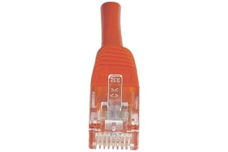 CORDON PATCH RJ45 U/UTP CAT5e Rouge - 1 M