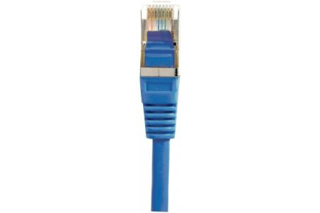 CORDON PATCH RJ45 F/UTP CAT5e Bleu - 0,30 M