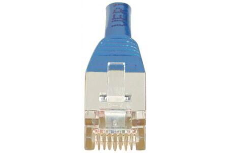 CORDON PATCH RJ45 F/UTP CAT5e Bleu - 10 M