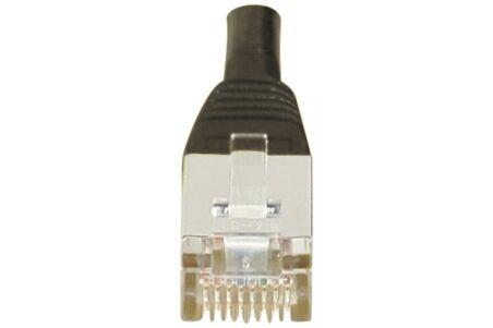 CORDON PATCH RJ45 F/UTP CAT5e Noir - 1 M