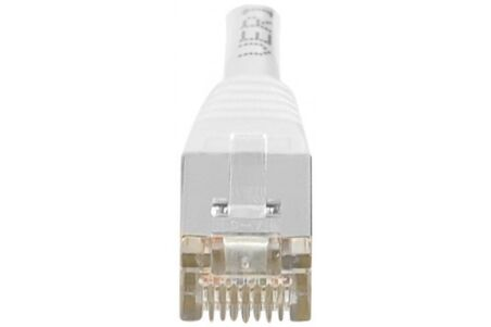 CORDON PATCH RJ45 F/UTP CAT5e Blanc - 0,50 M