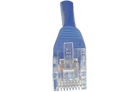 CORDON PATCH RJ45 U/UTP CAT6 Bleu - 0,30 M