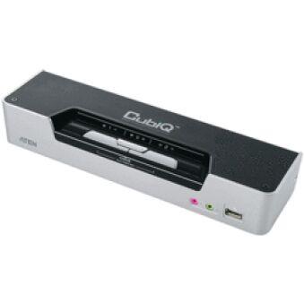 ATEN CS1642 KVM DUAL DVI/USB+AUDIO 2 PORTS