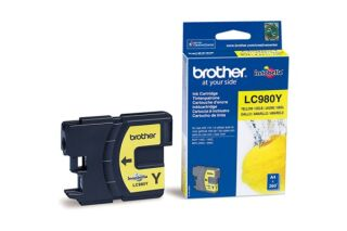 Cartouche BROTHER LC980Y - Yellow