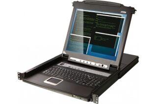 ATEN CL5716M CONSOLE KVM LCD 17' 16 PORTS + PORTS USB