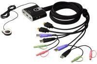 ATEN CS692 KVM in Cable 2 ports HDMI/USB+Audio