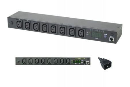 Multiprise administrable IP - 8 ports IEC