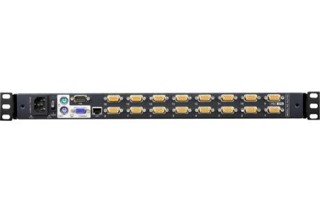 """Aten KL9116M console lcd 17"""" kvm ip 16 ports VGA/PS2-USB"""