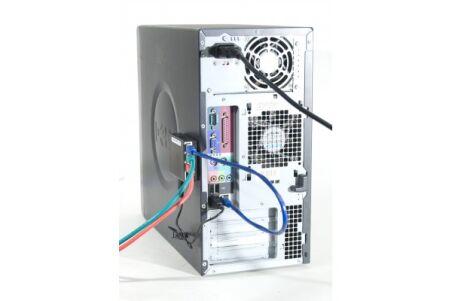 DEXLAN Mini Switch 4 ports Gigabit Magnétique alim. USB&220V