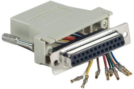 Adaptateur DB25F / RJ45