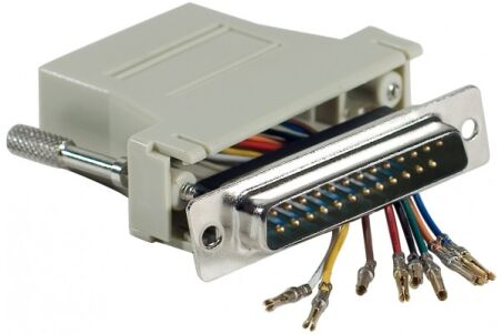 Adaptateur DB25M / RJ45